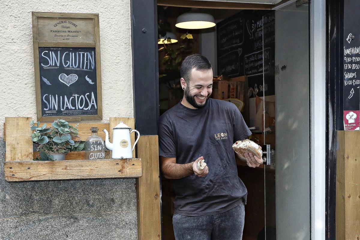 Venden el pan sin gluten y sin lactosa.