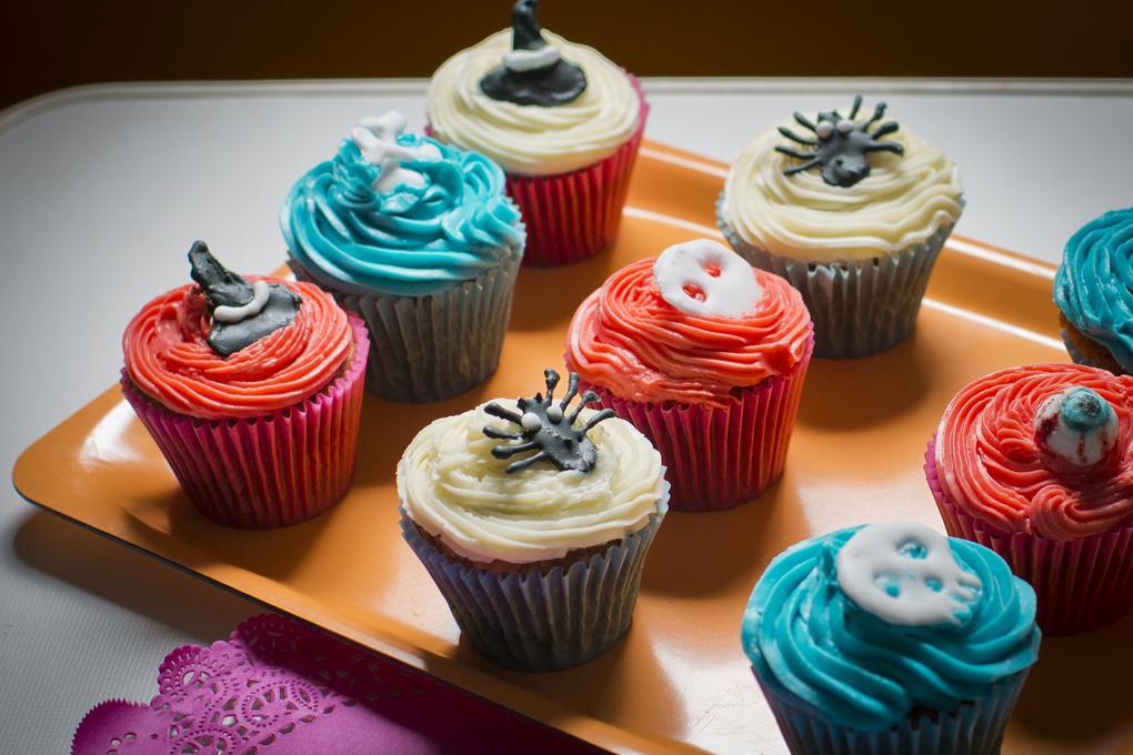 Cupcakes de calabaza.