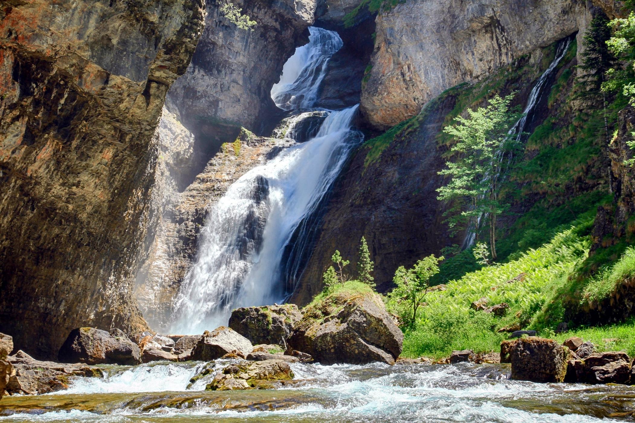 La Cascada del Estrecho se encuentra en un rincón de gran belleza. Foto: shutterstock.