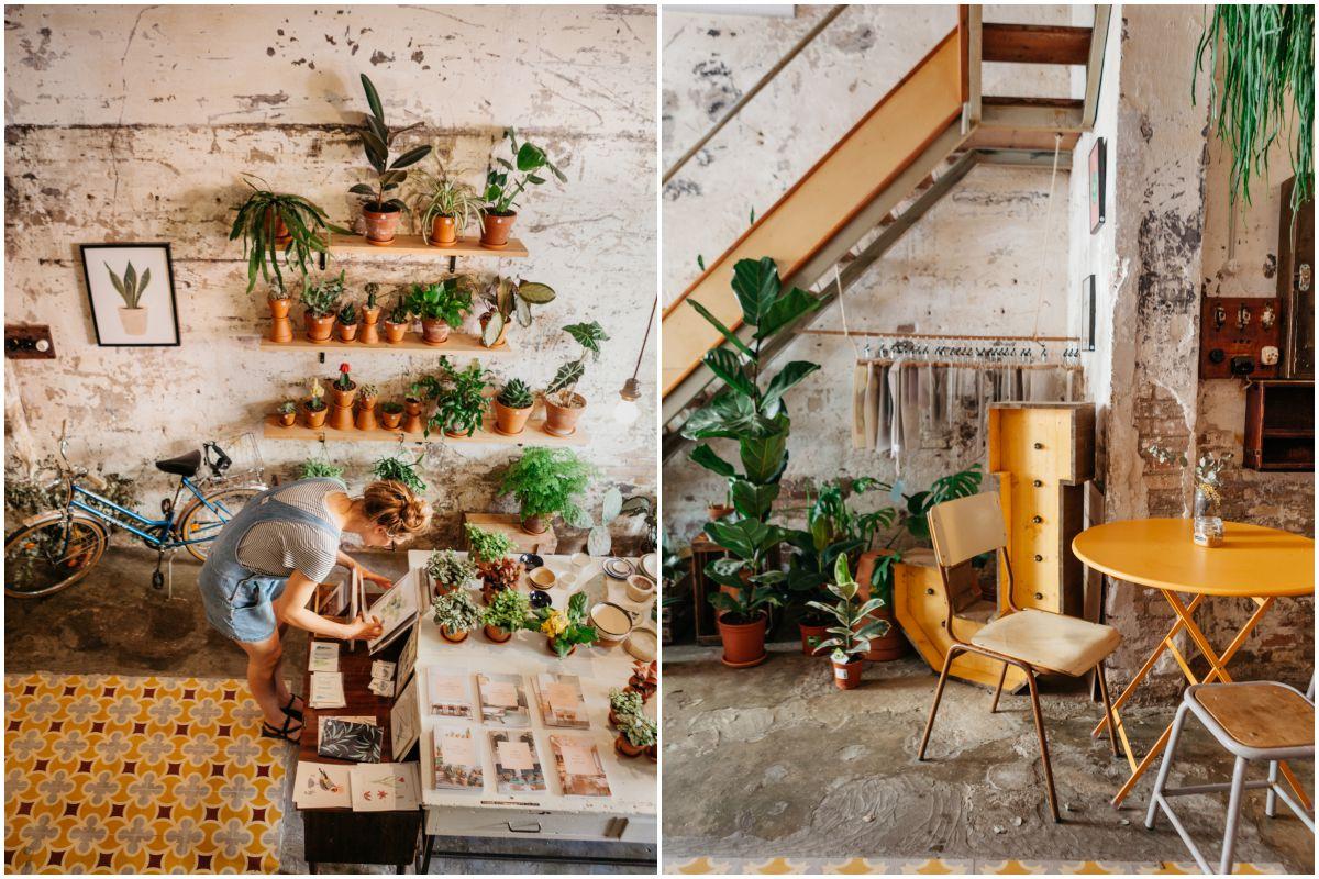 'Espai Joliu', en Poblenou, es una tienda-cafetería que podría estar en pleno Berlín.
