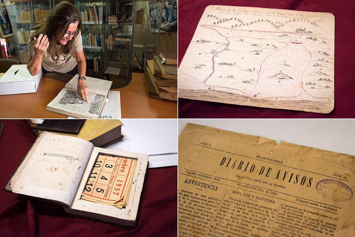 Colección de La Real Sociedad Cosmológica, en Santa Cruz de La Palma.