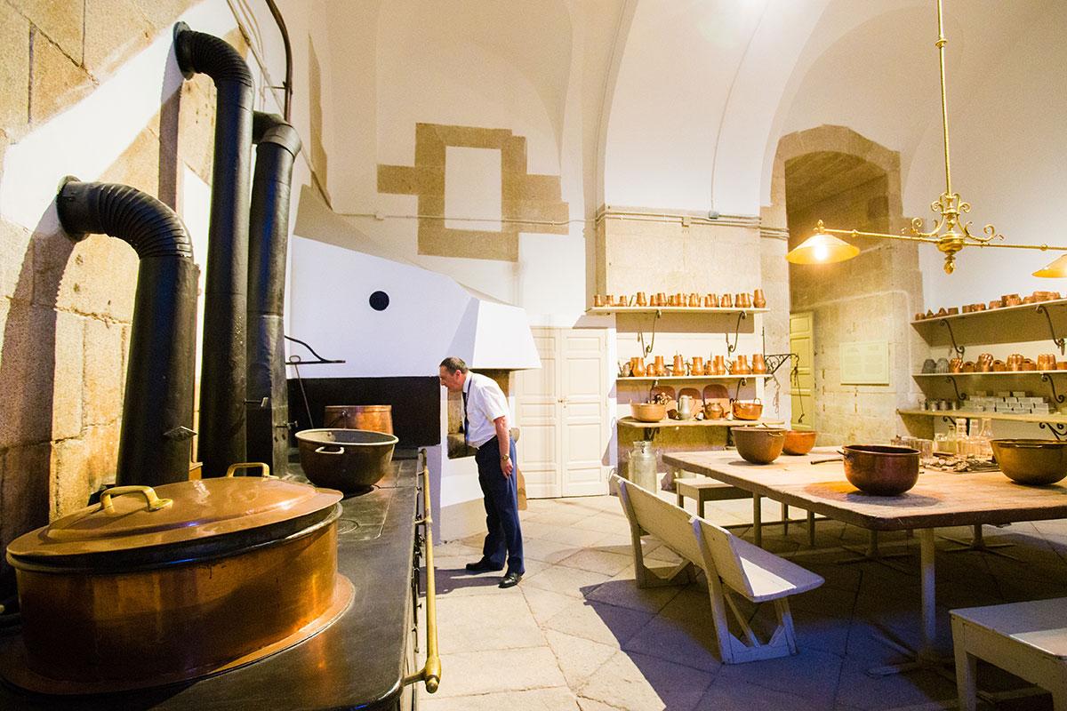 Cocinas Palacio Real: Una de las estancias. Foto: Máximo García