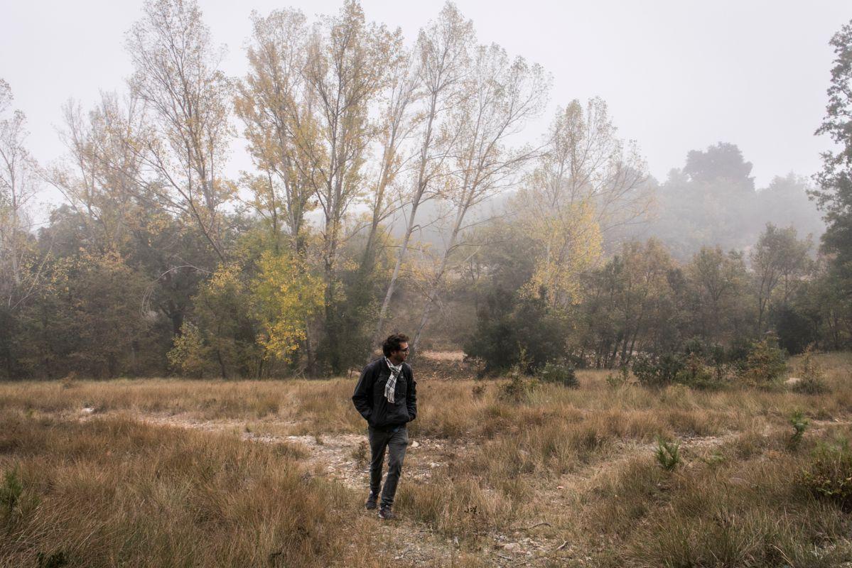 Paseando por El Rivet, en Alto Maestrazgo, Castellón. Foto: Eva Máñez