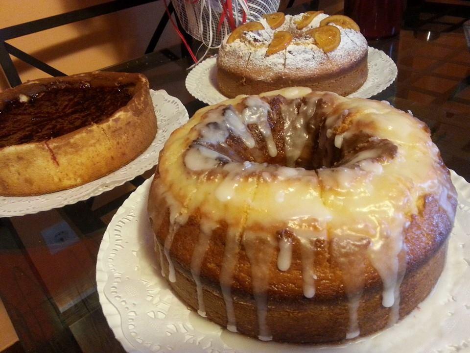 Todos los bizcochos y tartas de Valentina son caseros. Foto: Valentina - Facebook