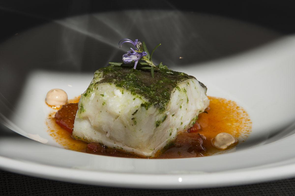El plato de bacalao de 'Octavio'.
