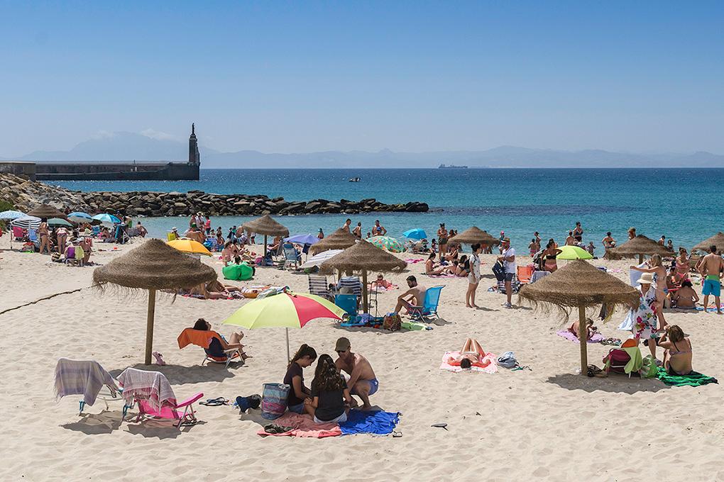 Playa Chica, una de las favoritas de los tarifeños. Foto: Stefan Schmidt.