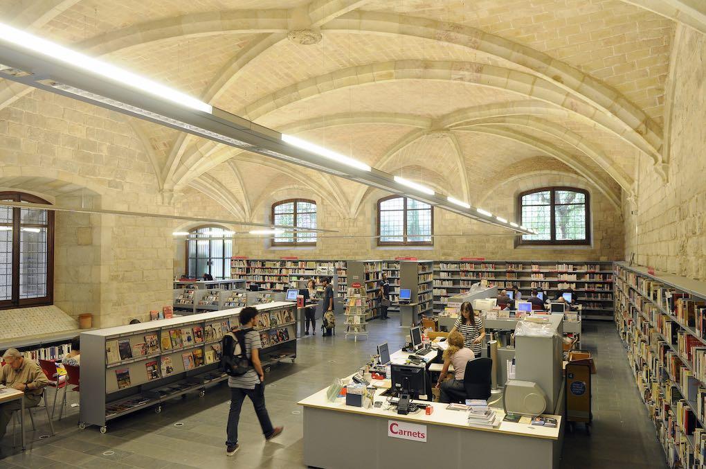 La Biblioteca del Raval tiene un marcado carácter multicultural. Foto: Biblioteca Sant Pau-Santa Creu.