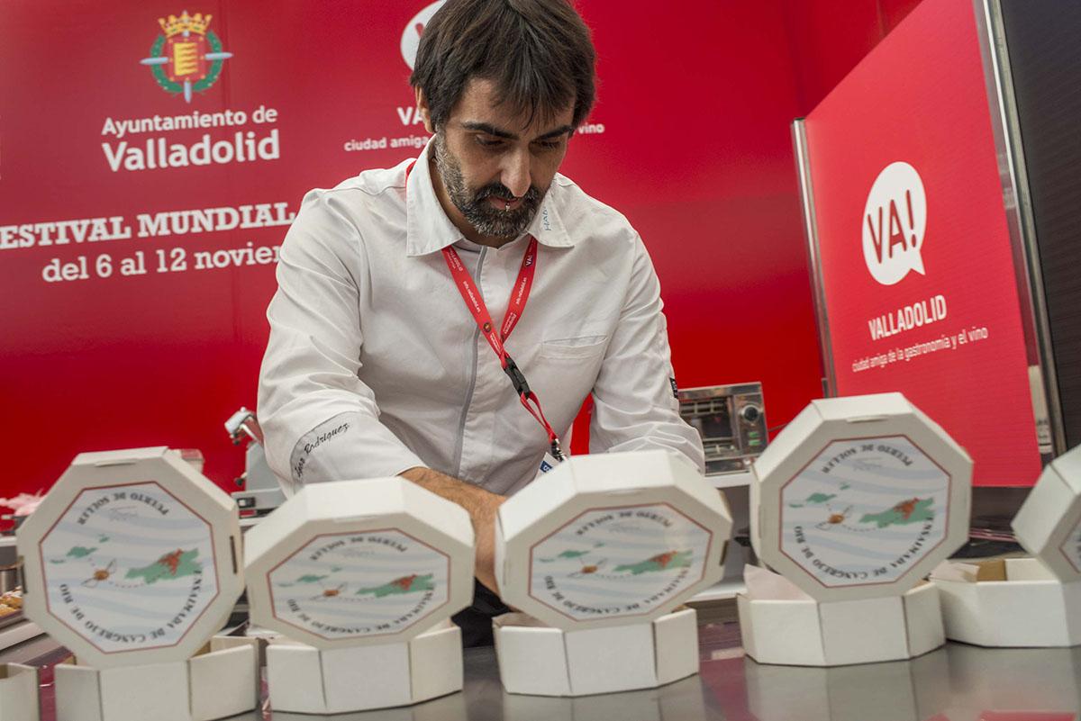 XIII Concurso Nacional de Tapas. Igor Rodríguez. Foto: Alfredo Cáliz