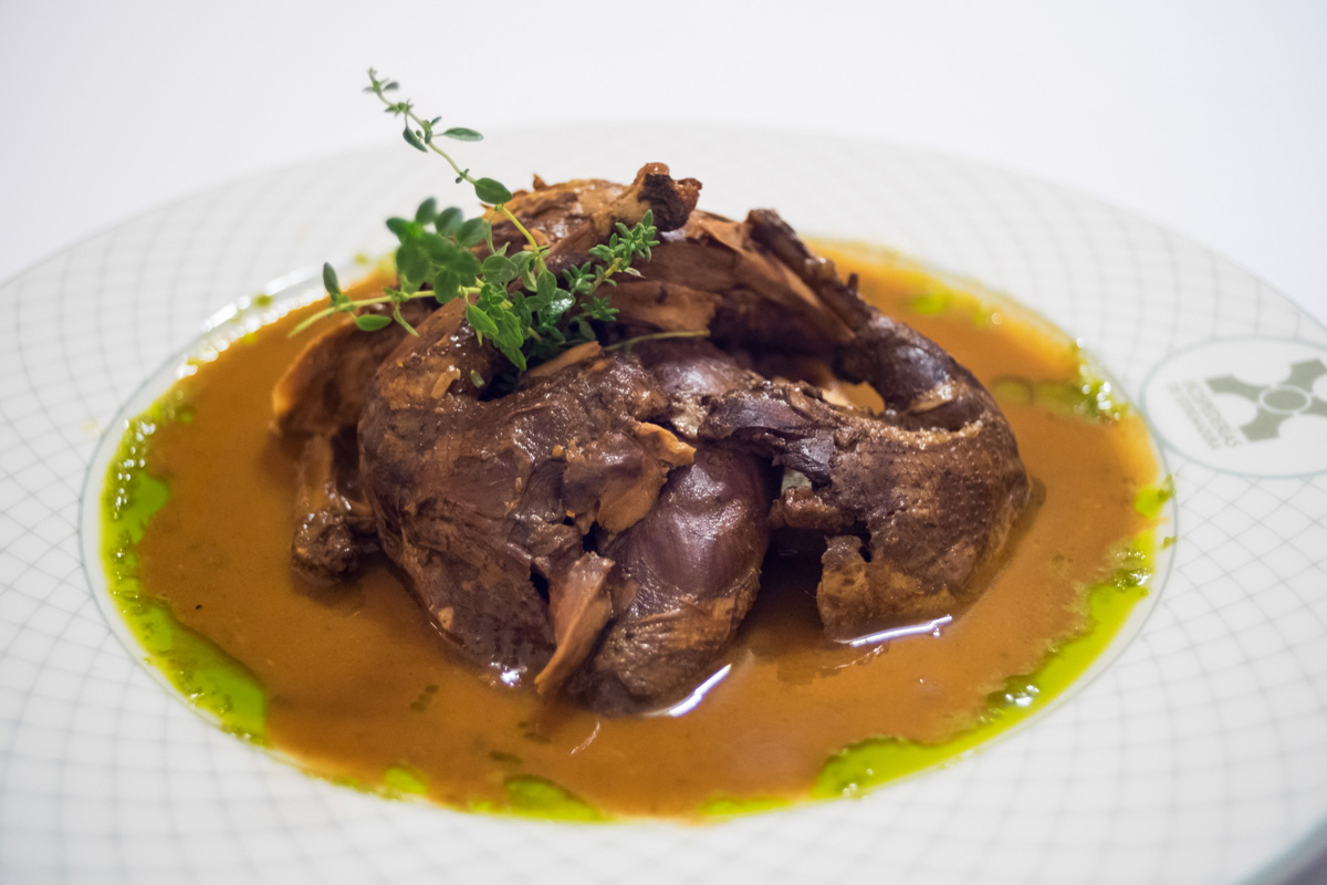 La famosa Perdiz al modo Alcántara, receta de su gastronomía conventual.
