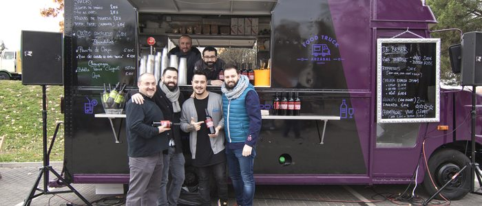 Foodtruck de Arzábal. Foto: MadrEat