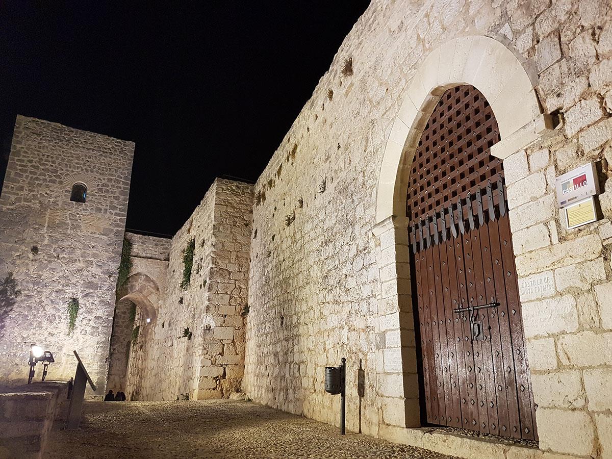 Castillo de Santa Catalina, junto al Parador.