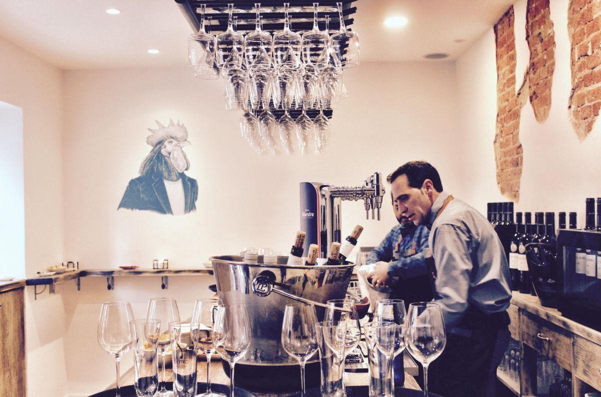 El nuevo proyecto vinícola de El Retiro. Foto: Taberna Zalamero.