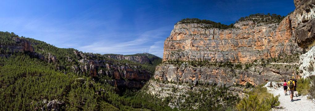 Mirador del cañón del Júcar. Foto: Antonio L. Flickr.