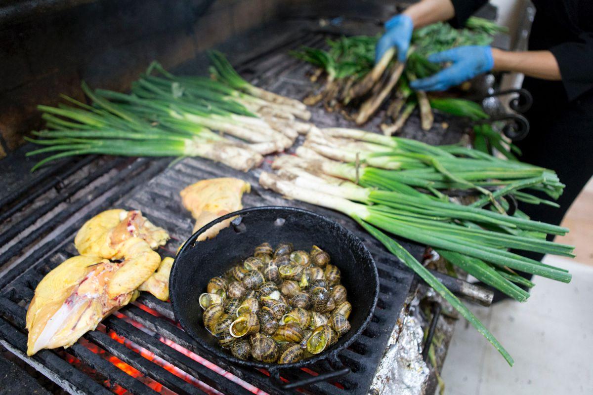 También es buen momento para comer 'escargots'.