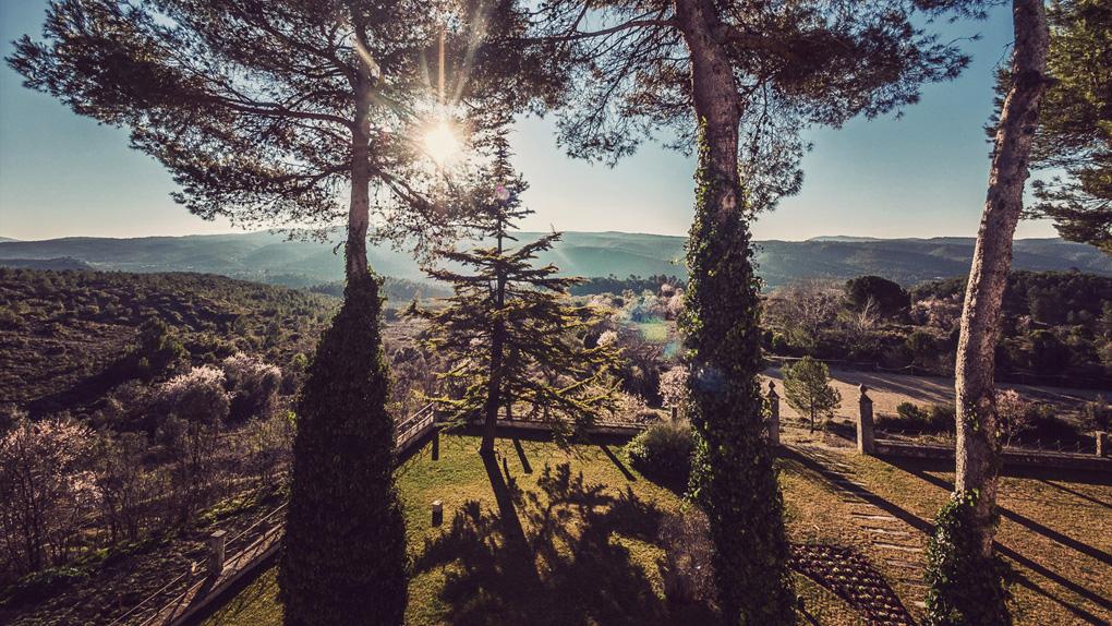 Vistas desde Mas Qi. Foto: masqi.es.