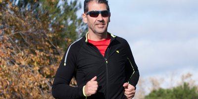 Paco Roncero entrena una hora diaria.