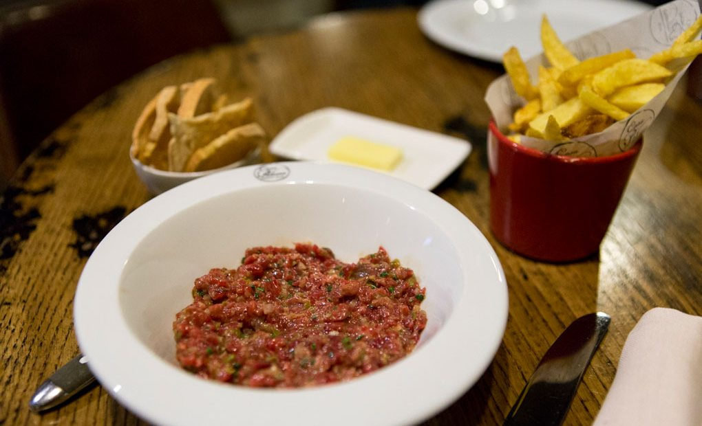 Steak Tartar de Casa Paloma