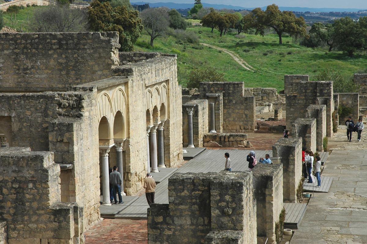 Medina Azahara se encuentra a tan solo 7 kilómetros de la ciudad de Córdoba. Foto: Mamadú Dabó