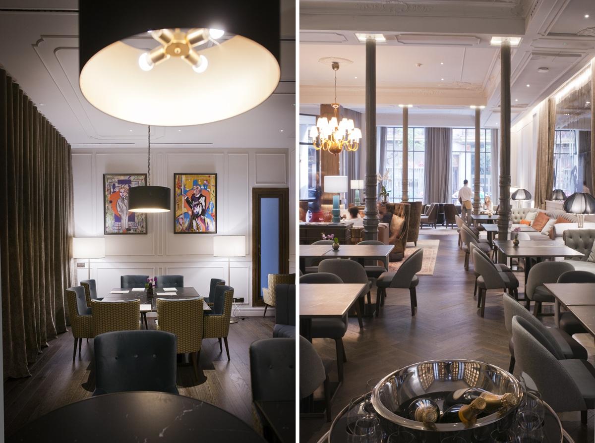 El 'lobby' está pensado como un sitio en el que trabajar o desconectar.