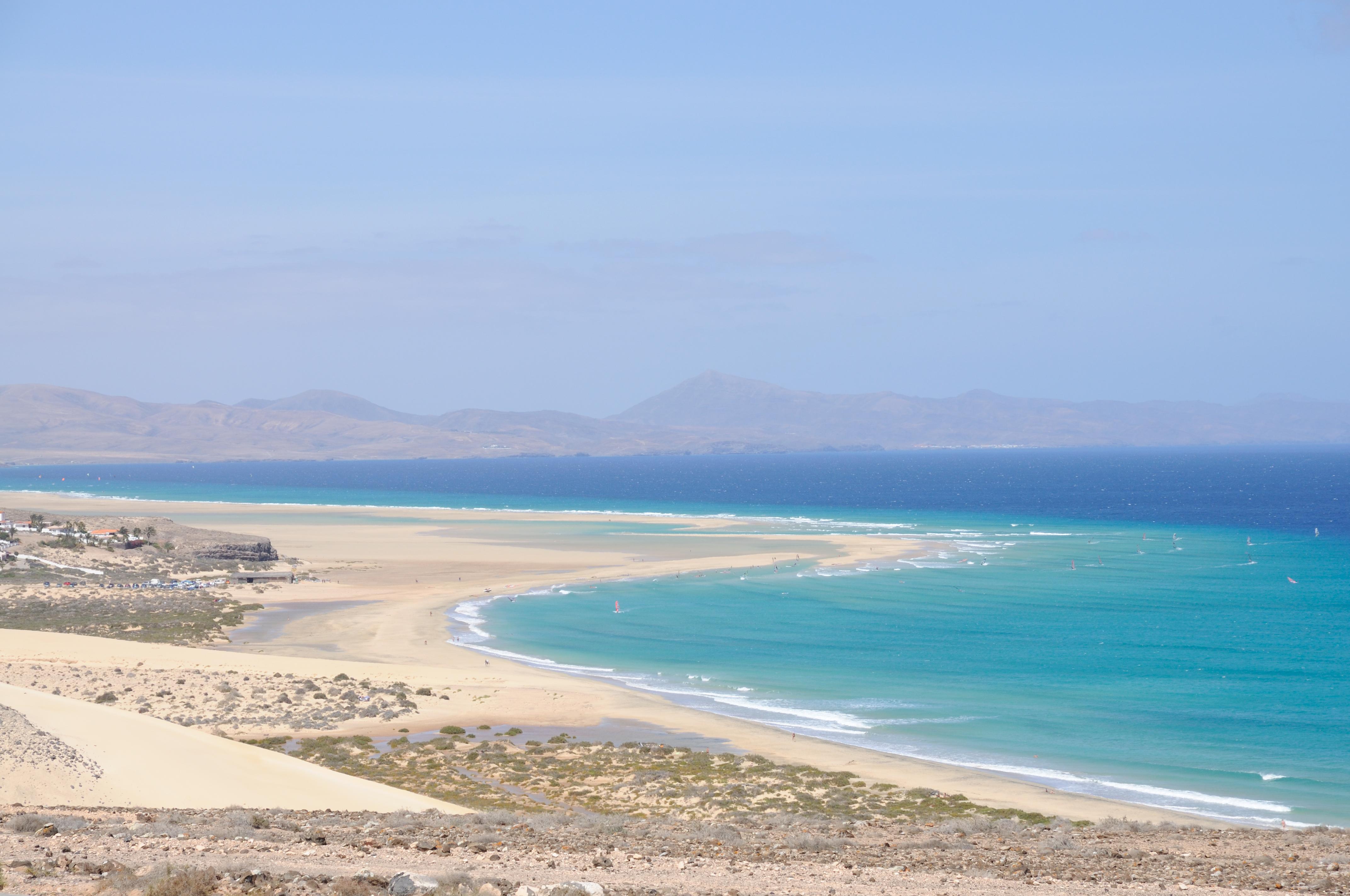 Playa de Jandía, un paraíso. Foto: Shutterstock.