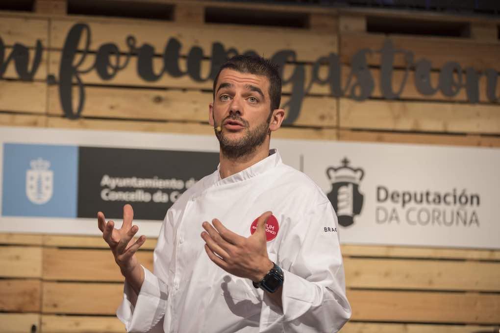 Héctor López en el Fórum Gastronómicos de A Coruña 2017