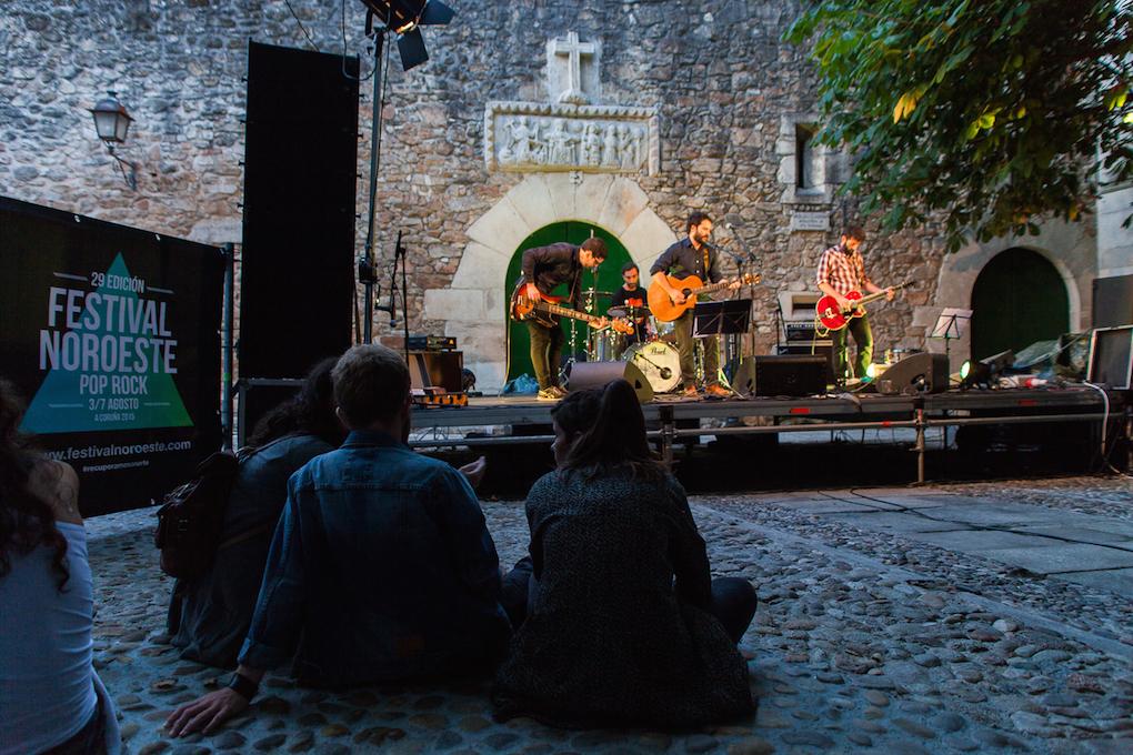 Luis Moro & The Tribeca's Band en la Plaza de las Bárbaras. Foto: Concello de A Coruña
