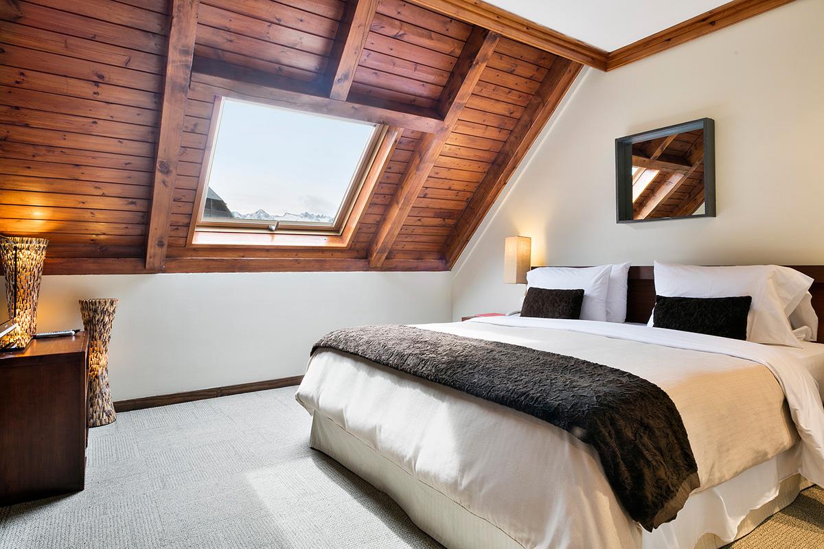 Así son las 'suites' de este hotel en plenas montañas. Foto: Rafaelhoteles by La Pleta.