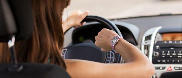 La ansiedad por llegar pronto es un detonante del estrés al volante.