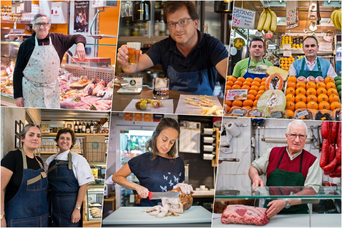 El único mercado de productores artesanos de Madrid