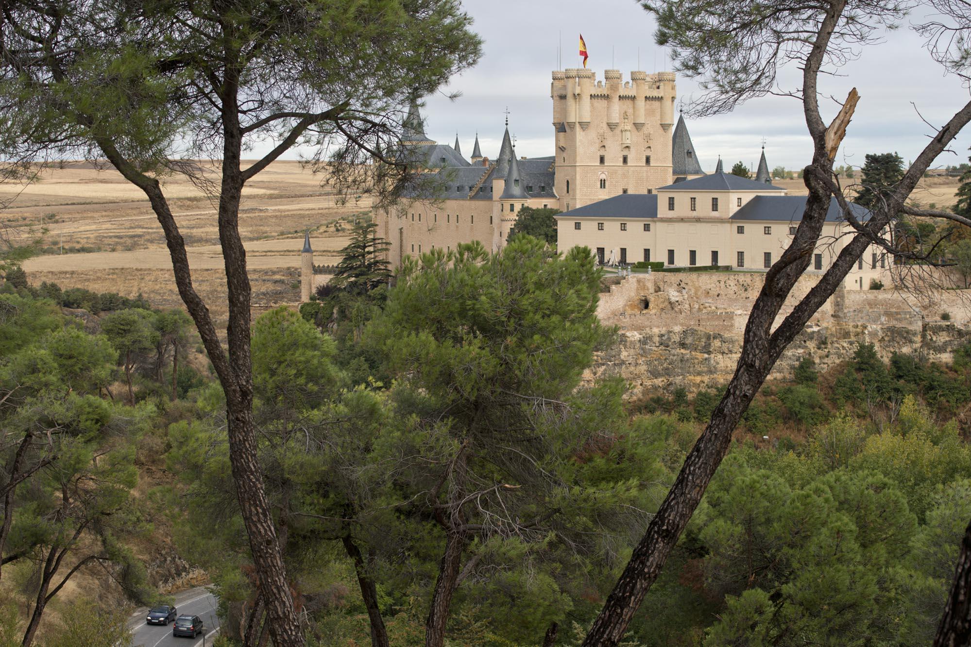 """El palacio donde Isabel """"se vio asediada por la turba enfurecida""""."""