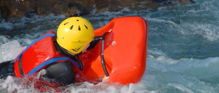 A diferencia del rafting, el hidrospeed es un descenso individual.