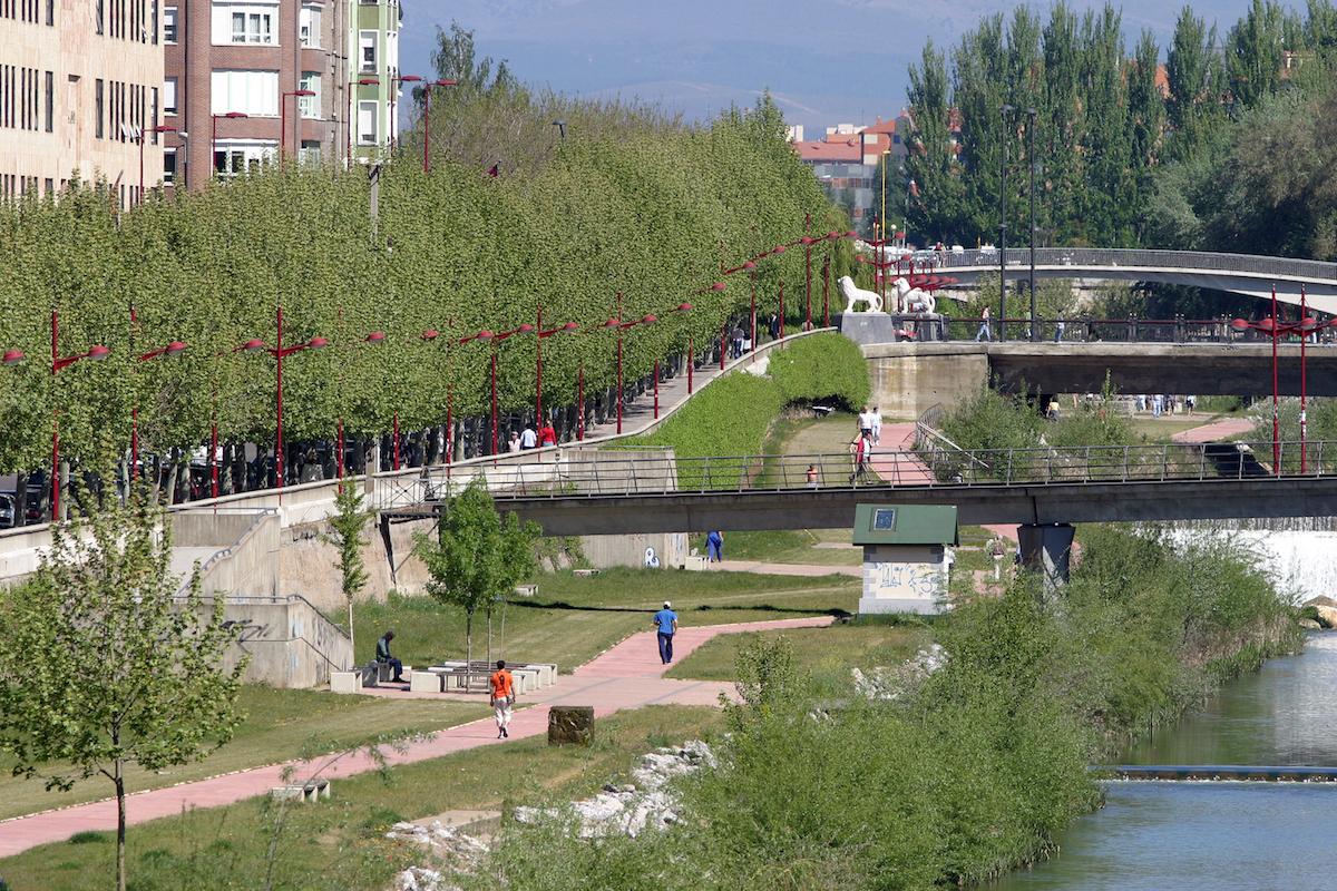 Río Bernesga. Foto: Ayuntamiento de León.