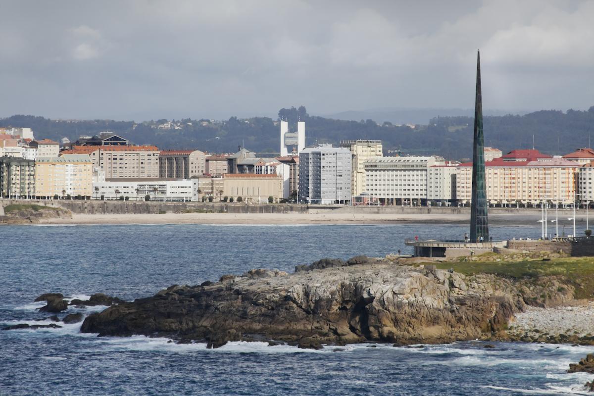 Vista de A Coruña.