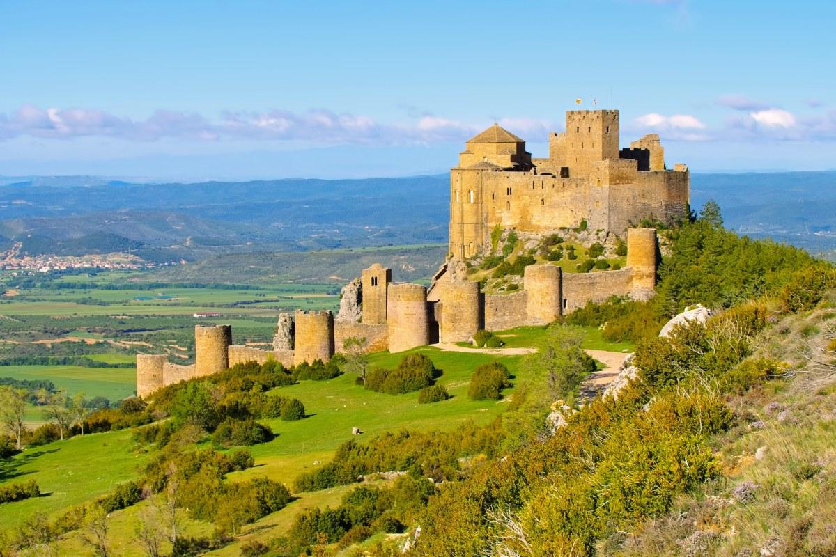 Loarre es el castillo románico mejor conservado de Europa. Foto: Shutterstock.