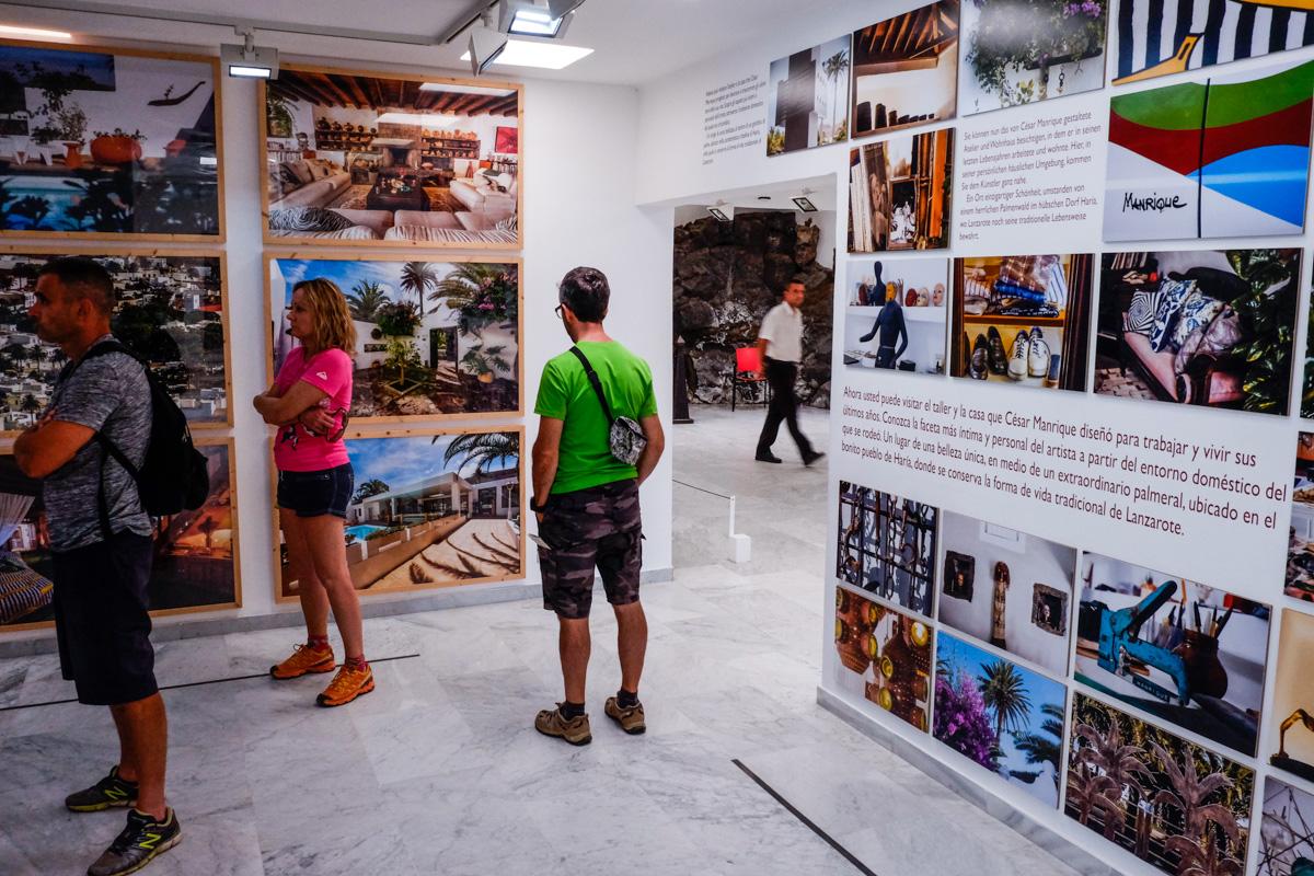 En la sede de la Fundación, el visitante puede conocer detalles de la vida del artista.