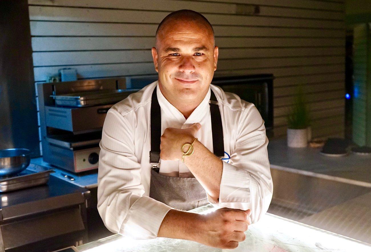 Ángel León, chef de 'Aponiente' (3 Soles Repsol). Foto: Javier Martínez Mansilla