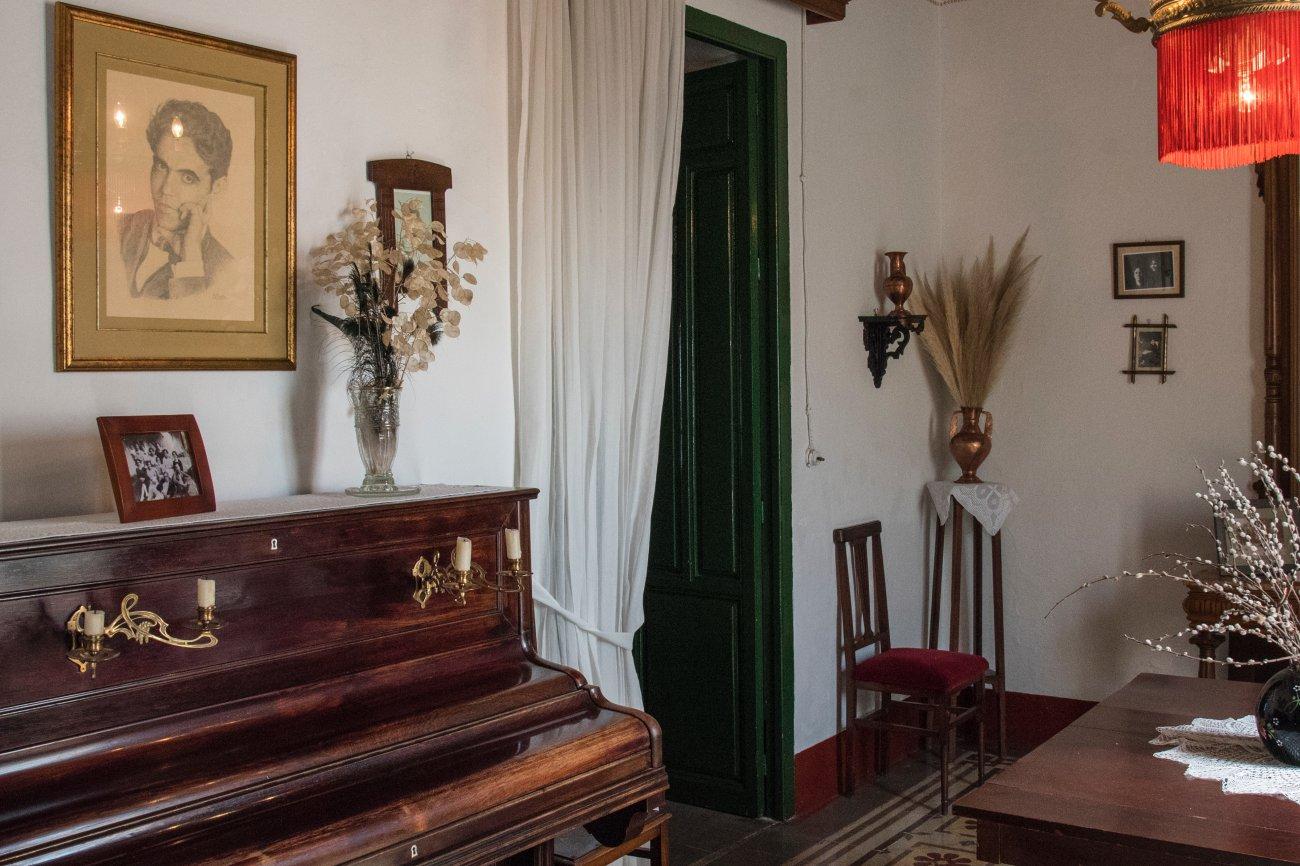 García Lorca. Valderrubio. Casa Museo de Federico García Lorca (sala)