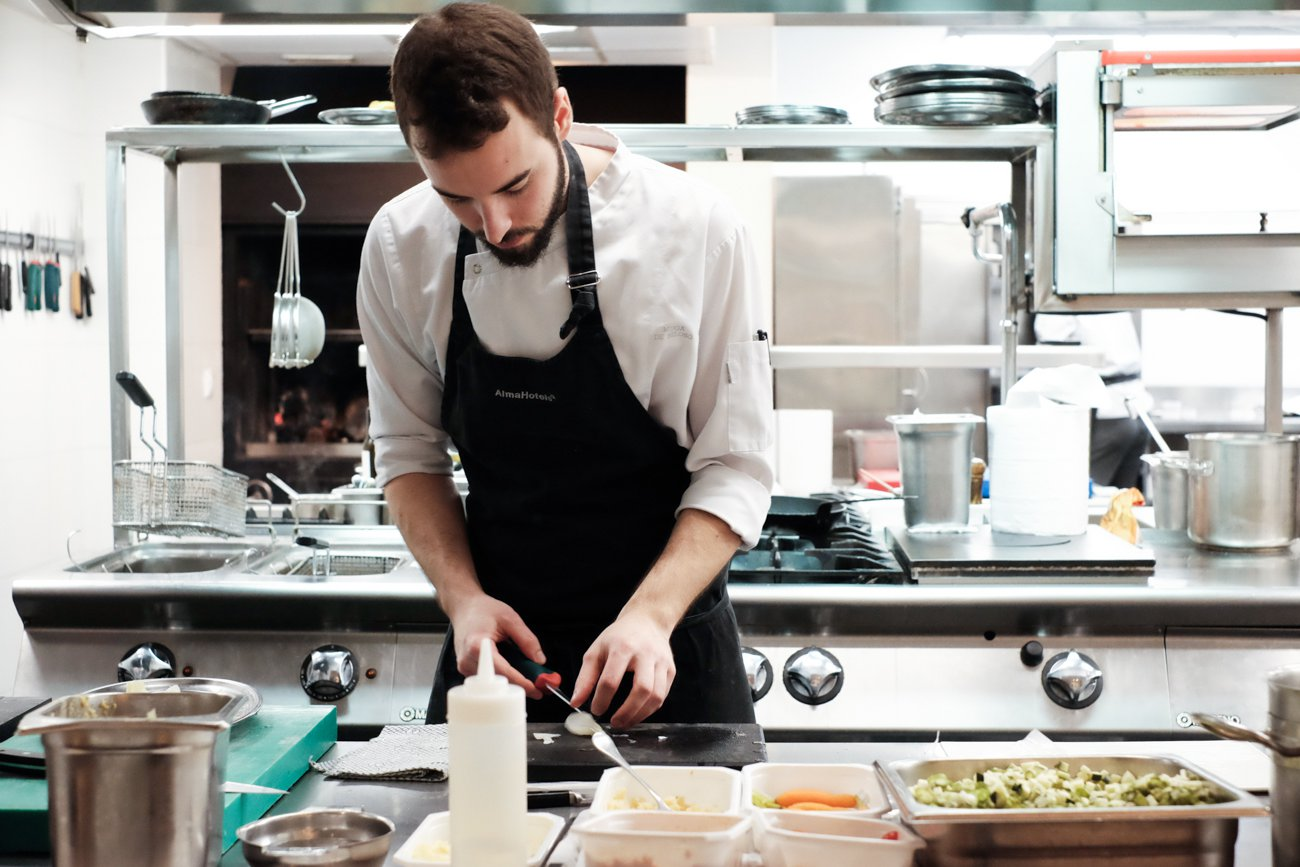 Restaurante 'Alma' (Pamplona) - Cocina