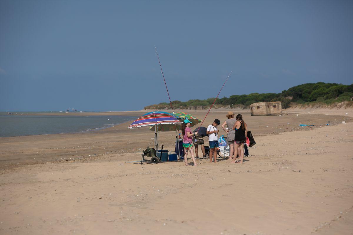 Un día de playa en pleno Parque Natural (y sin levante).