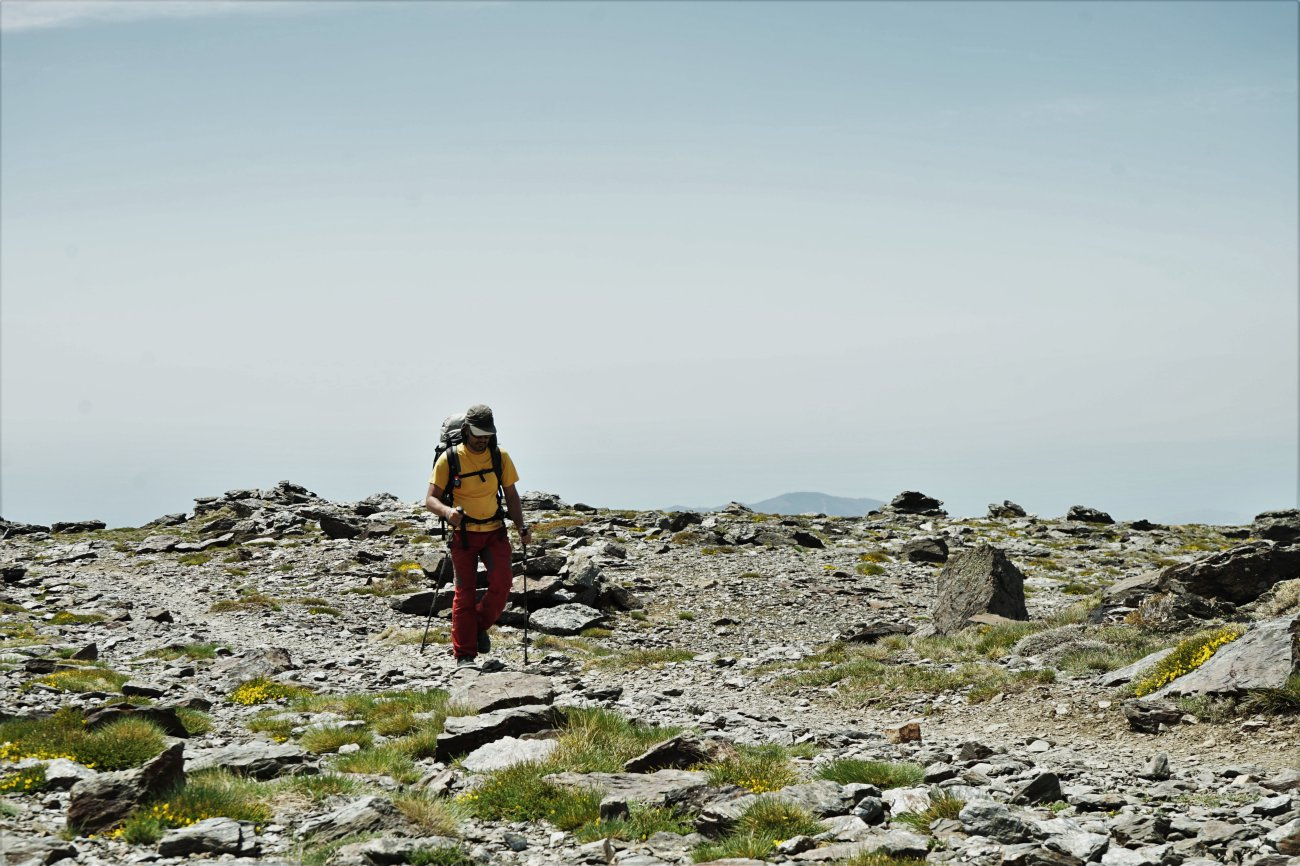 Ascenso al Mulhacén: Ascenso a la cima del pico