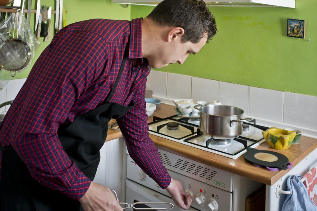 Preparamos el horno.