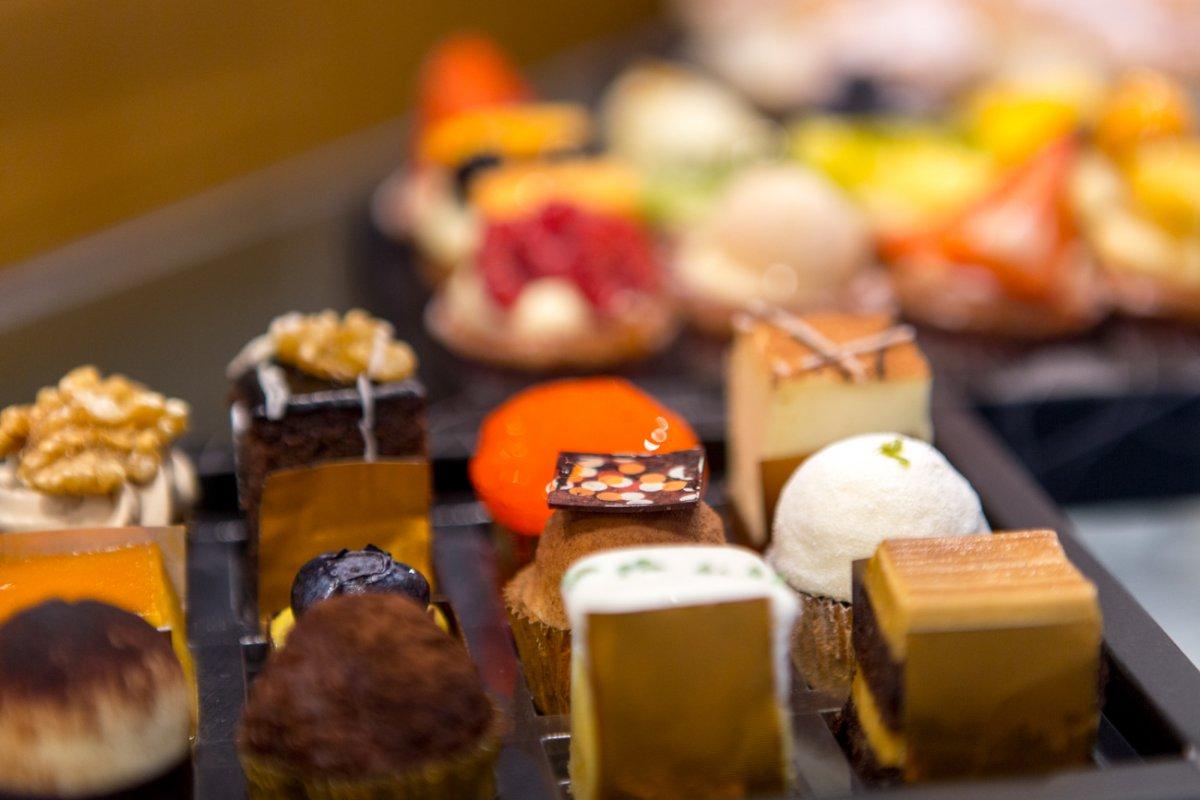 Pastelería y obrador Tugues (Lleida): pasteles y mini tartaletas