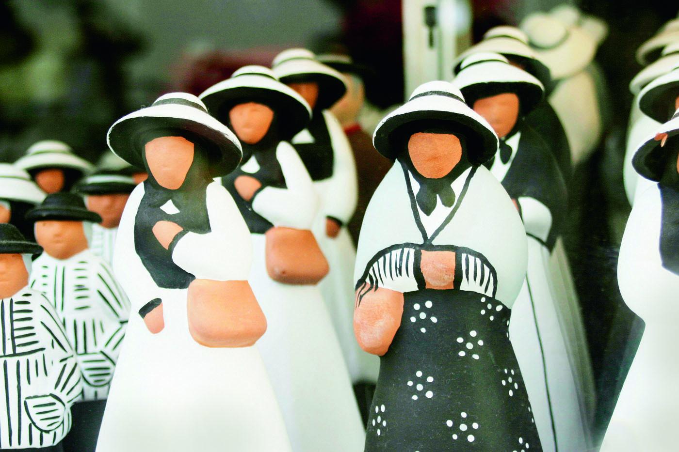 Figuras de cerámica tradicionales de Formentera