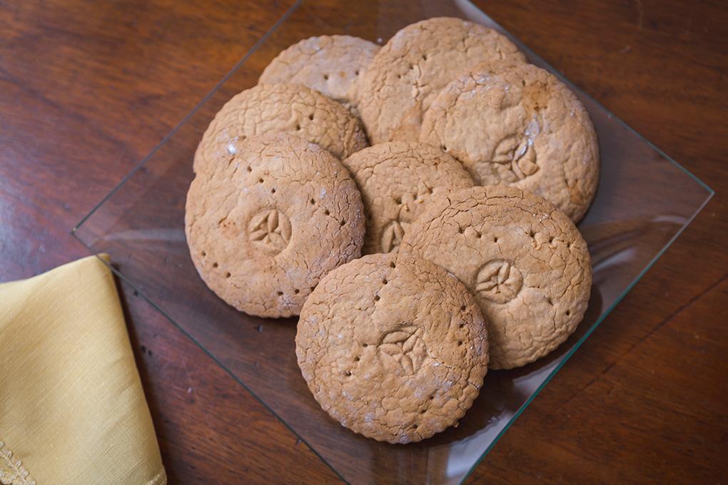 Galletas integrales sin harina de trigo