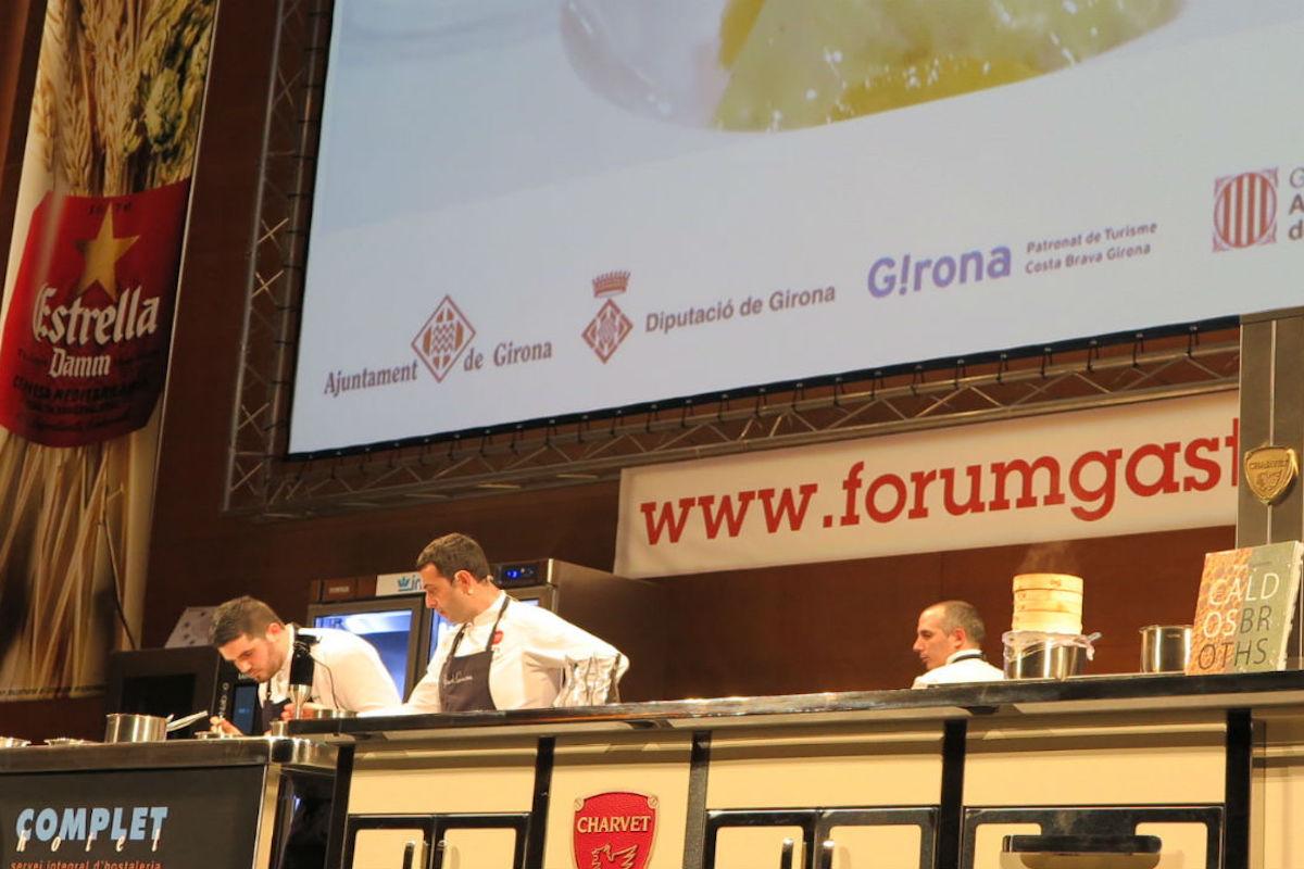 Segunda jornada Fòrum Gastronòmic.