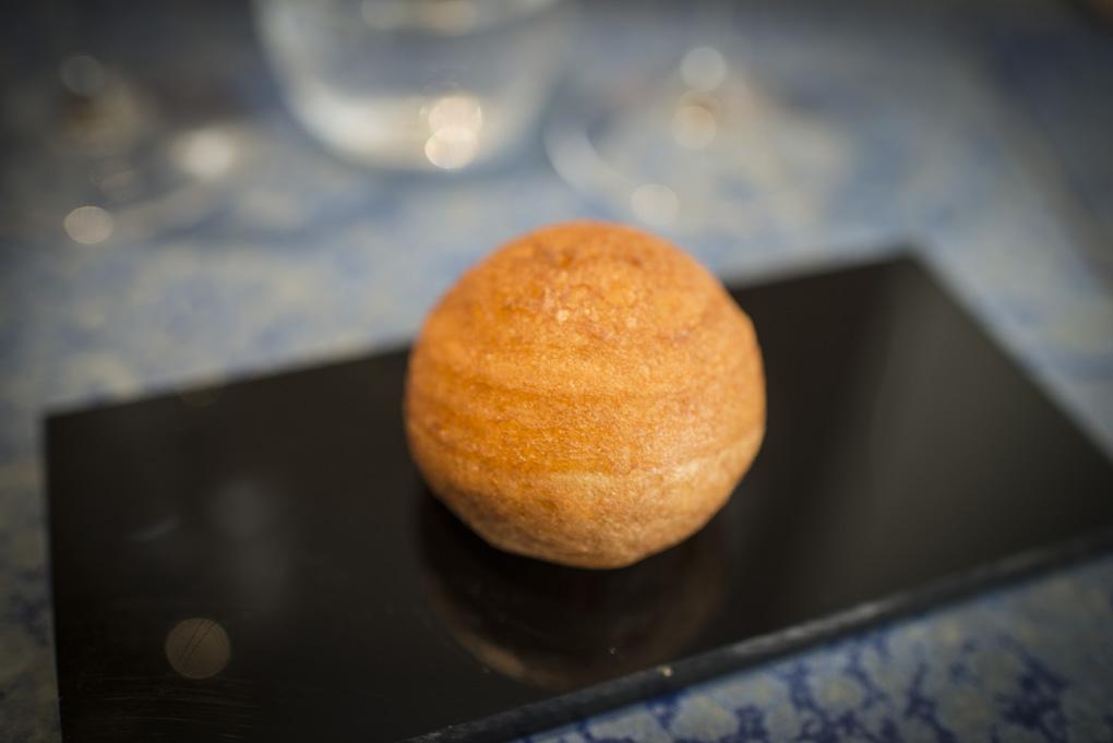 un pan chino a partir de una masa líquida