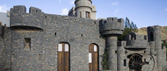 Museo-Castillo de la fortaleza de El Hao.