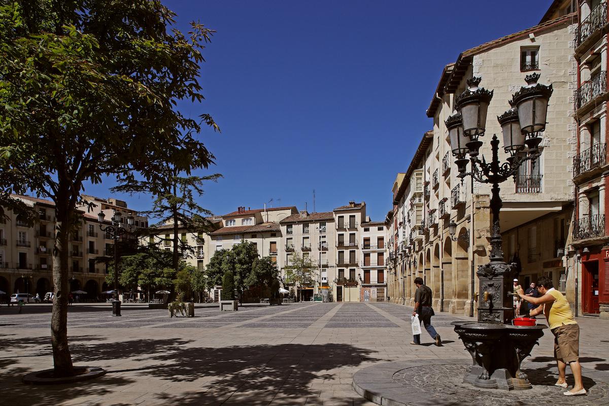 Plaza del Mercado. Foto: La Rioja Turismo.
