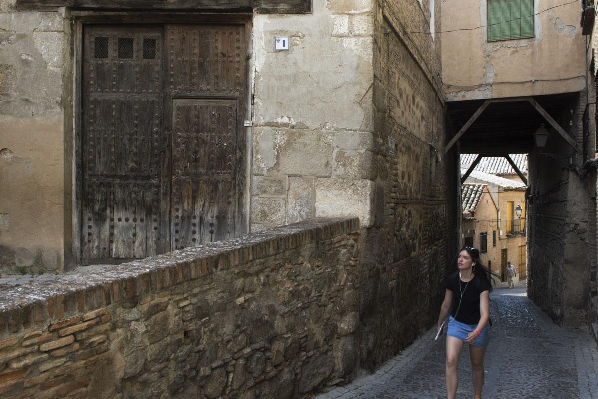 El cobertizo de la calle Colegio de Doncellas, otro rincón para pasear.