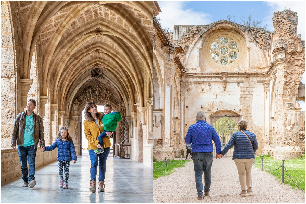 Las visitas al Monasterio son guiadas y gratuitas.